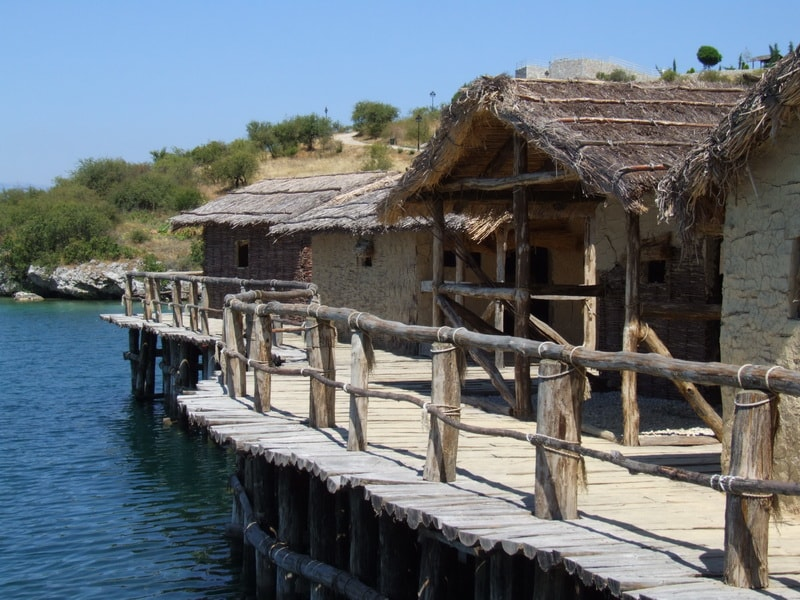 Prehistoric settlement in the Bay of Bones near Gradishte on Ohrid Lake